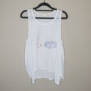 Altar'd State Burnout Embroidered Campsite Tank